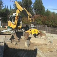 Simi Valley Knolls Footing Demolition 2011